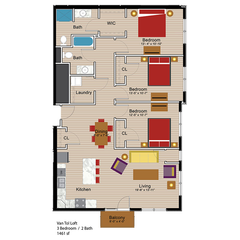 Van Tol Loft 3 Bedroom